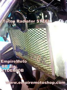 Cover Radiator STEEL Ninja 250 FI