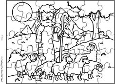 Lord Is My Shepherd Puzzle (Activity Sheet) Activity sheets are a great way to end a Sunday School lesson. They can serve as a great take home activity. Or sometimes you just need to fill in those …