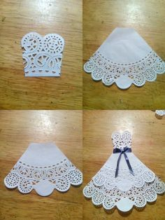 Wedding Card, Mr and Mrs, Bride and Groom Congratulations Card, Tuxedo - Wedding Gown Card, to my daughter on her wedding day Paper Doily Crafts, Doilies Crafts, Paper Doilies, Wedding Cards Handmade, Wedding Gifts, Doily Wedding, Origami Wedding, Wedding Dress, Personalized Wedding