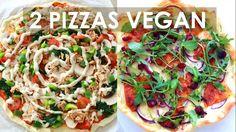 PIZZAS VEGAN & HEALTHY   Fromage et Bacon recettes 100% végétales