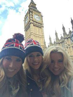 Cheerleaders in London