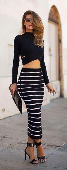 Ponte a la moda, YA! Los 13 mejores OutFit de falda. El #12 Me encanta!!! | La Casa Del Curioso