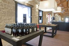 Marques de Riscal wine store by Marketing Jazz, Elciego   Spain store design