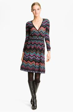M Missoni Zigzag Dress available at #Nordstrom