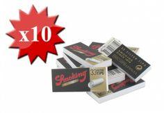 Filtres en carton Smoking Larges x 10