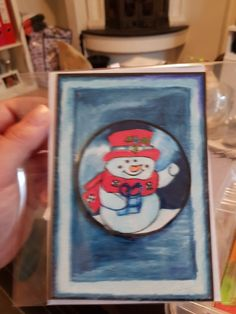 #snowman #homemade #isaleiscollection  #coluring Leis, Snowman, Barware, Coasters, Homemade, How To Make, Collection, Hand Made, Snowmen