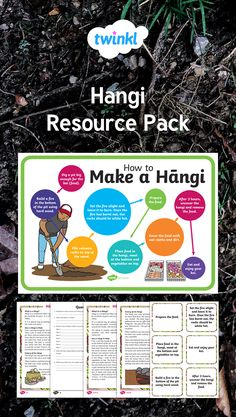 Use this handy pack, full of great resources, to inspire your class to create a hangi. Teaching Resources, Packing, How To Make, Maori, Bag Packaging
