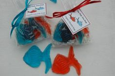 Green Eggs and 1 Fish 2 Fish Organic Buttermilk Soap Favors by lavenderrosegifts