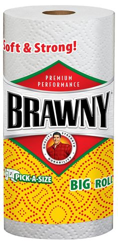 $0.25 OFF ANY pack of Brawny® Paper Towels (single rolls included)