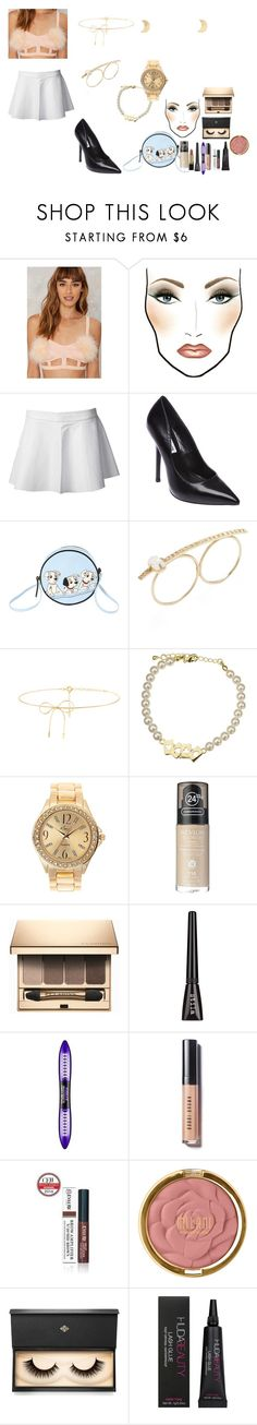"""""""happy new years eve 💫🥂"""" by femalerebell ❤ liked on Polyvore featuring MAC Cosmetics, Love Leather, Steve Madden, Olympia Le-Tan, Jacquie Aiche, Lilou, Kim Rogers, Revlon, Clarins and L'Oréal Paris"""