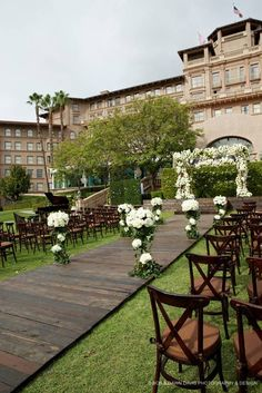 Ceremony, Revelry Event Design / Coordinated by Mindy Weiss / Flowers by Mark's Garden / Photography by Bob and Dawn Davis