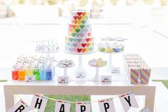 How to host a rainbow birthday party