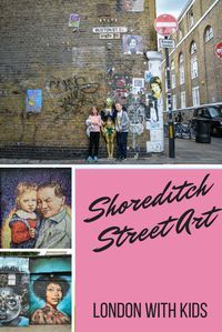 London Shoreditch, best place to see Street Art. We explore the area around Brick Lane with children for some amazing public art, and also visit a hidden gem, the Nomadic Community Garden. (scheduled via http://www.tailwindapp.com?utm_source=pinterest&utm