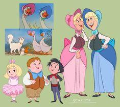 Disney Au, Art Disney, Disney And Dreamworks, Disney Magic, Disney Movies, Disney Pixar, Cartoon Characters As Humans, Disney Characters, Humanized Disney