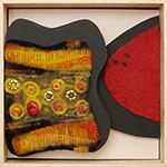 Ellen Schiffman Felted Fiberart: Handmade felt combining wool and silk in distinctive works of art from supple flowing scarves to rugged and dramatic sculptural pieces.