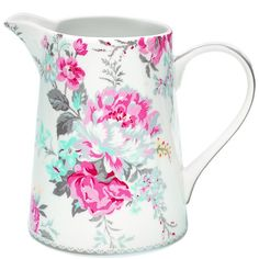 GreenGate Stoneware Jug 1,0L Vera Vintage H 17 cm | Autumn/Winter 2013 | Originated-Webshop