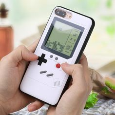 Ninetendo Tetris Gameboy Phone Case For iPhone 6 Plus Case Soft Edge Game Console Back cover For iPhone X 7 8 Plus case. Subcategory: Mobile Phone Accessories & Parts. Iphone 7 Plus, Iphone 8, Gameboy Iphone, Cool Iphone Cases, Mobile Phone Cases, Best Iphone, Game Boy, Retro Phone, 6s Plus Case