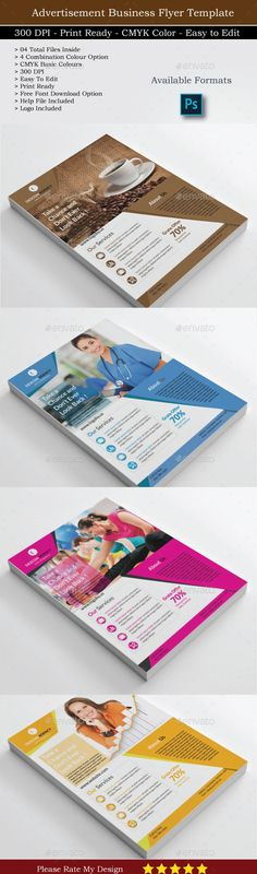 Flyer Template for Business PSD. Download here: http://graphicriver.net/item/flyer-template-for-business/14313626?s_rank=196&ref=yinkira