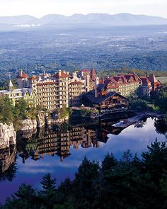where we had our wedding reception Mohonk Mountain House