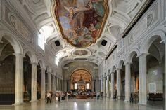 Basilica di San Pietro in Vincoli - Featured on RueBaRue, famous for housing Michelangelo's early-16th Century sculpture.