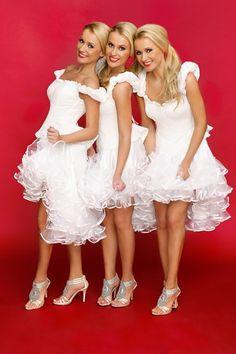 Alizma are Poland born identical triplet sisters