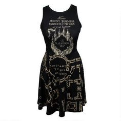 Harry Potter Marauder dress.