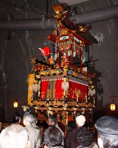 The Takayama Festival Float is one of the four famous yatai or festival floats, displayed at the Takayama Yatai Kaikan (Festival Floats Exhibition Hall).