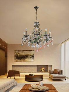 Candelabre si Lustre cu Cristale – Alessandro Design Palazzo, Web Design, Chandelier, Ceiling Lights, Led, Lighting, Home Decor, Design Web, Candelabra