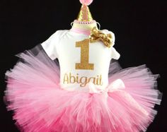 Minnie Mouse 1st Birthday Pink Gold Minnie Mouse outfit