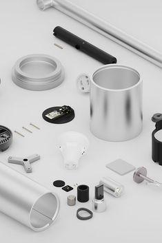 #Lighting Design #Industrial design #Product design #Design #2014 #Lamp #Ryan Jongwoo Choi #제품디자인 #디자이너 #최종우 Baby Wipe Warmer, Home Vegetable Garden, Industrial Design, Objects, Apple, Presentation, Packaging, Products, Apple Fruit