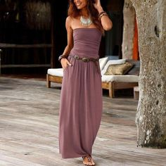Backless Maxi Dresses, Strapless Maxi, Bodycon Dress, Maxis, Robes Dos Nu Maxi, Off Shoulder Long Dress, Shoulder Tops, Long Dress Design, Dress Vestidos