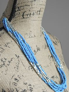 Don't Feel Blue For Me Necklace - Simply M