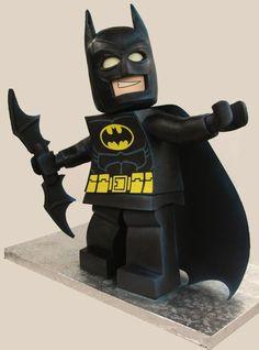 Batman + LEGO + Cake = Awesome!