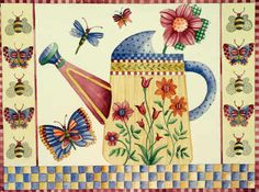 Katie Barwell's Gallery - Watering Can
