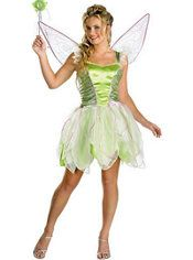 Adult Tinker Bell Costume Deluxe, $39.99