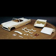1955 Ford Thunderbird Fairbird - Mason City Miniatures