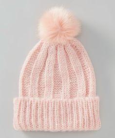 Another great find on #zulily! Pink Sequin Pom-Pom Beanie #zulilyfinds