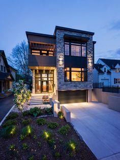 contemporary exterior design pictures