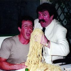 Spaghetti House, Harry Belafonte, Pasta, People Eating, Sylvester Stallone, Bon Appetit, Louis Armstrong, Beauty, Archive