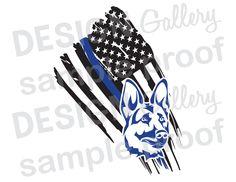 American Flag Thin Blue Line Distressed - JPG image & SVG DXF cut- police officer sheriff deputy law enforcement handler dog Thin Blue Line Flag, Thin Blue Lines, Police Flag, Police Officer, Police Wife, Military Police, Law Enforcement Tattoos, Police Tattoo, Blue Tattoo