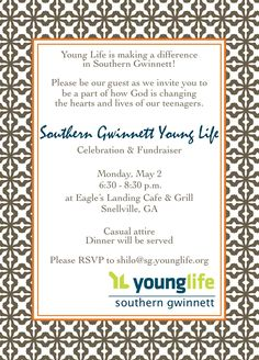 Nashville creative banquet invitation banquet ideas pinterest image result for young life banquet invitation stopboris Choice Image