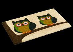 Twin Owl Doormat