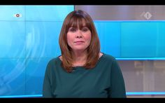 The good looking Astrid Kersseboom bringing the news yesterday on Dutch TV.