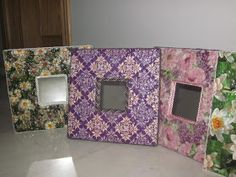 Cleaning Sea Shells, Eggshell Mosaic, Decoupage, Shell Crafts, Egg Shells, Picture Frames, Mosaics, Crafty, Painting