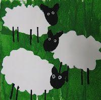 2nd Grade - organic shapes sheep