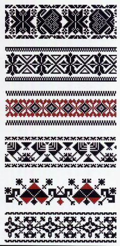 Folk Embroidery Patterns FolkCostume: Costume and embroidery of Lithuania Minor, Mažoji Lietuva, or Klaipeda region, Lithuania Folk Embroidery, Embroidery Patterns, Cross Stitch Borders, Cross Stitch Patterns, Gatomon, Inkle Weaving, Machine Embroidery Projects, Embroidery Techniques, Knit Patterns