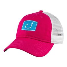 275c71d6df5 This is a fishing trucker hat with a relaxed style. Perfect for lazy  afternoons by the pool or that sunset boat cruise with friends.