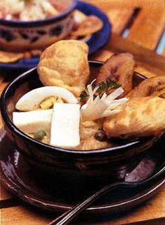 Fanesca (Ecuadorean Lenten Chowder) Recipe at Epicurious.com