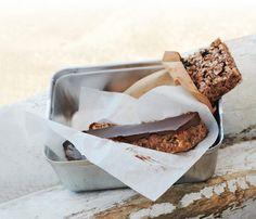 "Candy Bars via Gwyneth's ""It's All Good"" cookbook. #SelfMagazine"