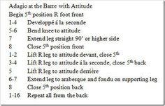 Adagio at the Barre with Attitude